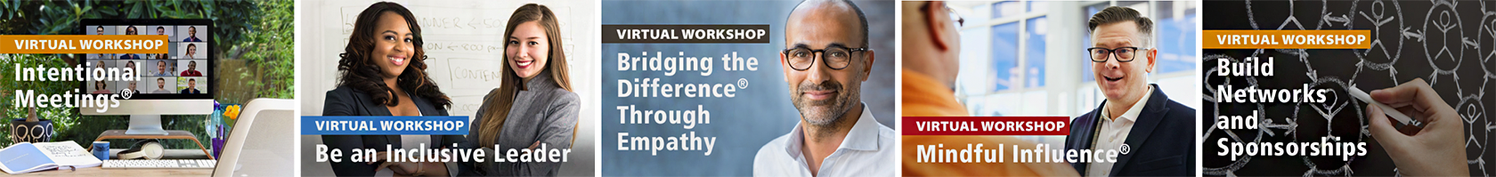 Leadership workshops offered by Bridging the Difference